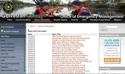 galveston county office of emergency management