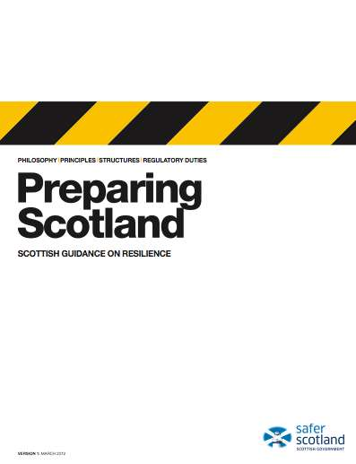 preparing scotland resilience and business continuity guidance