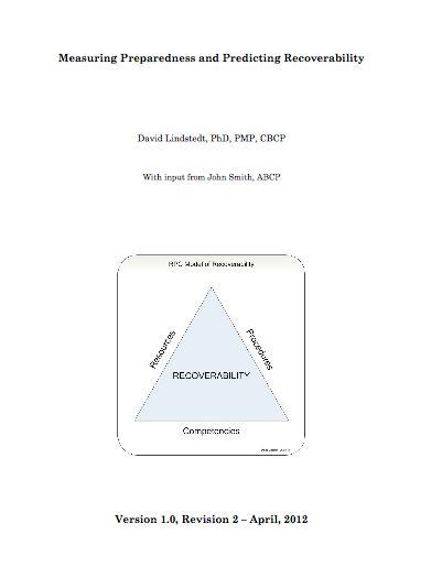 recoverability report